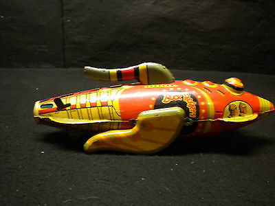 Louis Marx Buck Rogers Tin Wind Up Rocket Space Ship 1927