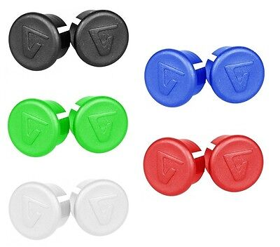 VELOX RETRO VINTAGE BIKE BAR HANDLEBAR COLOURED END PLUGS (Pair)