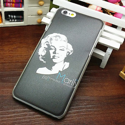 Painted Pattern Hard Case New For iphone 6 4.7 Skin Cover Marilyn Portrait 28