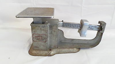1966 Vintage TRINER Property of US Post Office 1 lb Scale
