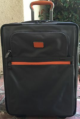 Tumi 'Alpha 2' Continental Carry-On (22 Inch), $645