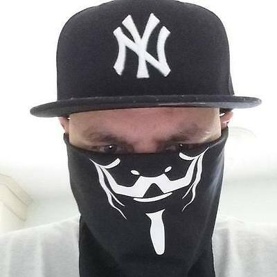 Anonymous bandana face covering Mask  Anon Fast Shipping!