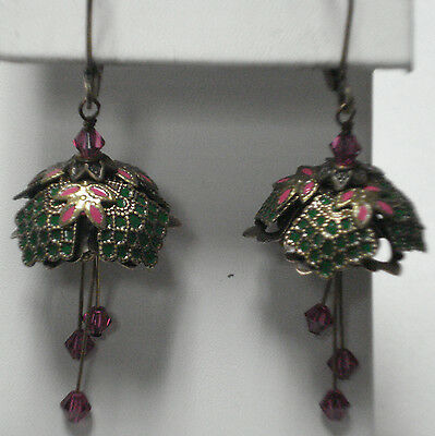 Flower Fairy (Forest Fairy)  Earrings By No Monet - Free Shipping