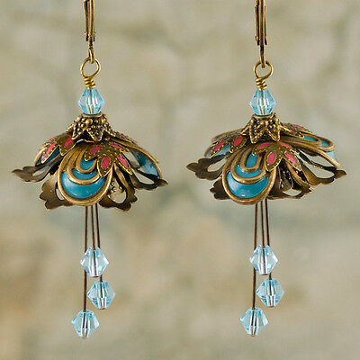 Flower Fairy (Masquerade) Earrings By No Monet - Free Shipping