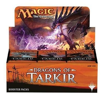 DRAGONS OF TARKIR~MTG Magic the Gathering Booster Pack Unopened Sealed Box 36ct