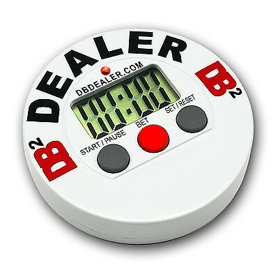 Digital DB2 Poker Dealer Chip Button Tournament Timer Sit-N-Go  FREE SHIPPING *