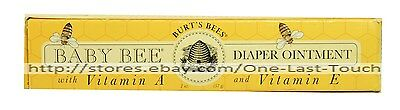 BURT'S BEES* Baby Bee DIAPER OINTMENT Natural SOOTHING Vitamin A & E (Boxed)*