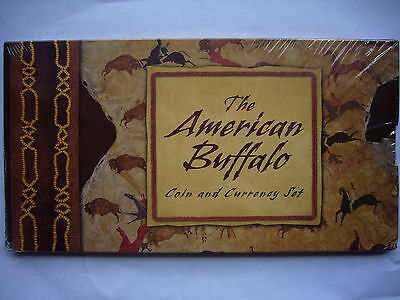 2001 Buffalo Silver Coin and Currency Set - Still Mint Sealed! Unopened!