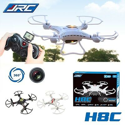 White Hot JJRC H8C 2.4G 6Axis Gyro RC HD 2.0MP Camera Quadcopter Explorers Drone