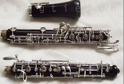 New ebony  oboe in C key full automatic outfit  +case