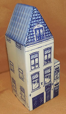 HAND PAINTED Canal House DELFT Blue NARROWEST 1650 #11 House Made In HOLLAND