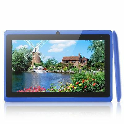 """Blue 7"""" Android 4.2 A23 Cortex Dual Core Dual Camera 8GB Mid Tablet Notebook PC"""