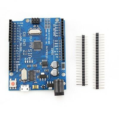 UNO R3 Mega328P CH340G 2014 Version Board Mini USB Development Board for Arduino