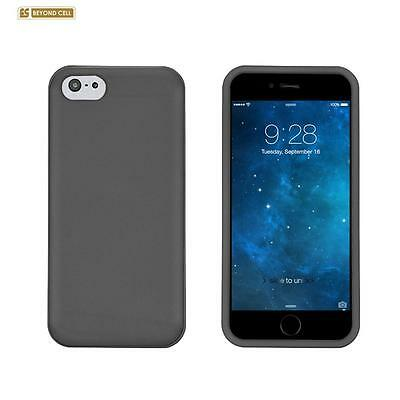 for APPLE iPhone 6 (4.7-inch ) GRAY HARD SKIN COVER CASE + SCREEN PROTECTOR