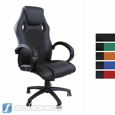 Racing Sport Gaming Swivel Office chair Executive Racer Chair Adjustable Height