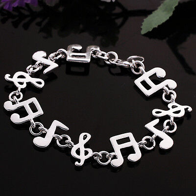 925 sterling silver bracelet fashion jewelry gift of music FA71