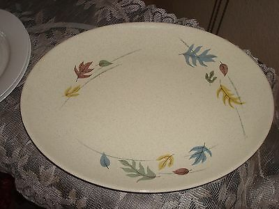 Franciscan  Fall Leaves Platter  14""