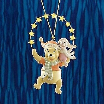 Lenox Disney 2012 POOH PIGLET Reaching for the Stars Ornament NEW IN BOX