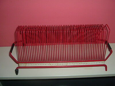 Red Record Rack - Holds 1 - 50 - 7inch Singles