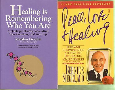 Healing is Remembering Who You Are & Peace, Love and Healing (2 Books)