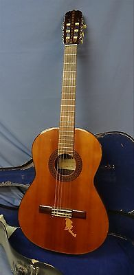 Vintage Morris Model No. M 80 M80 6 String Acoustic Guitar Made in Japan 1970's