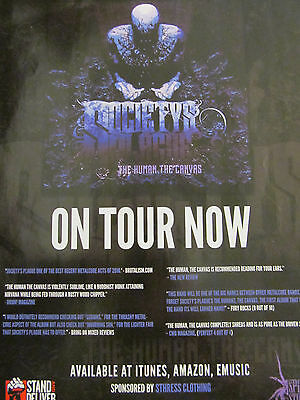 Society's Plague, Full Page Promotional Ad