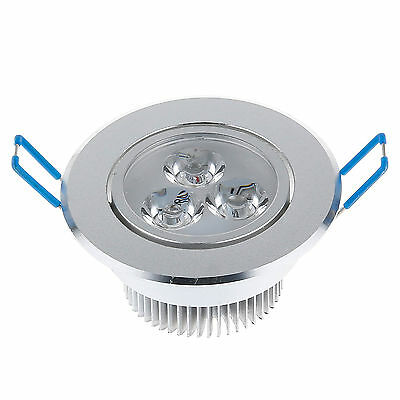 3x3W 9W LED Ceiling Recessed Panel Down Light Spotlight Driver No Dimmable Bulbs