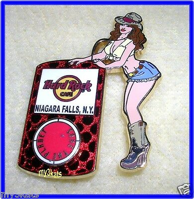 Hard Rock CAFE NIAGARA FALLS NY IPOD GIRL PIN 2008