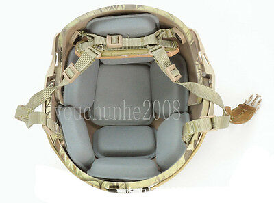 Tactical Airsoft Military Protective Pad For Helmet Grey-35287