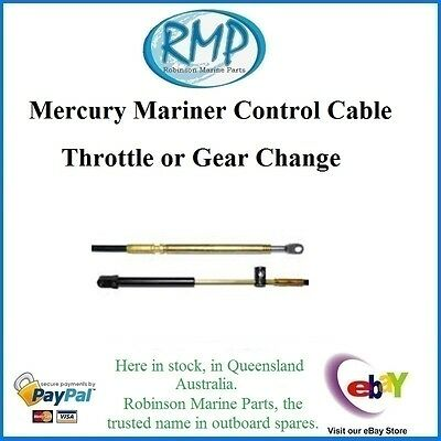 A Brand New Mercury Mariner Gen 2 Control Cable 15' Throttle / Shift # VP83355