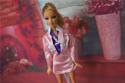 High quality Original wedding gown wears clothes Outfit Barbie Doll Party c405