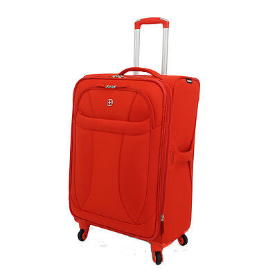 "Wenger Travel Gear Neo Lite Upright 20"" Carry-On Spinner Suitcase - Orange"
