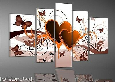 """Handmade Home Decor Beautiful Modern abstract Oil Painting """"More LOVE"""" PM0126"""