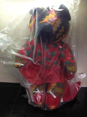 Rare 1994 Avon Gift Collection Kente Fashion Bear