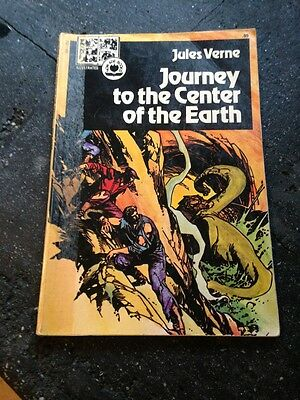 Vintage Journey to the Center of the Earth Now Age Illustarated Comic Book