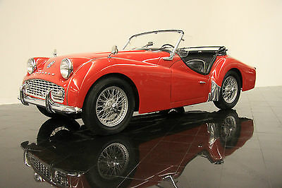 Triumph : Other TR3A Roadster 1960 tr 3 a roadster hardtop and side curtains upgraded 2138 cc motor from a tr 4