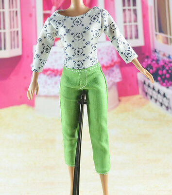 lovely New Handmade Party Clothes Fashion Dress for Noble Barbie Doll   **W10