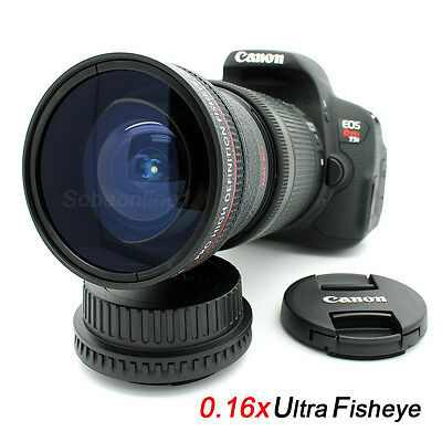 New Ultra Wide Angle Macro Fisheye LENS FOR Canon XL2 XH A1 XL15 XL H1 XHA1S A1S