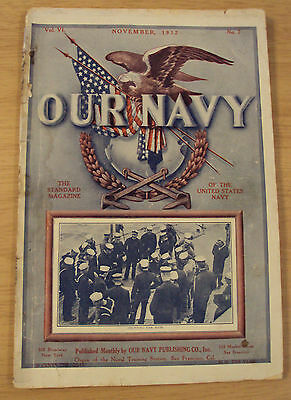 "1912 Pre WWI Magazine~""OUR NAVY""~U.S.S. Pennsylvania~Military Ephemera~"
