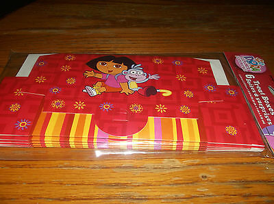 12 DORA THE EXPLORER & BOOTS BIRTHDAY PARTY SUPPLIES LOOT GOODY BOXES, NOT BAGS