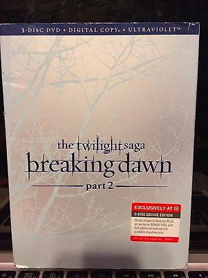 The Twilight Saga: Breaking Dawn, Part 2 (3-disc deluxe edition,.UV EXPIRED)