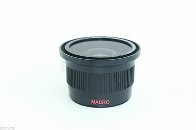 Wide Angle Macro Fisheye Lens for Canon EOS Rebel t1i t2i t3 t3i t4i t4t5 4hd UV