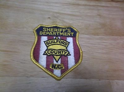 CR2) Guilford County Sheriff's Department NC Police Patch