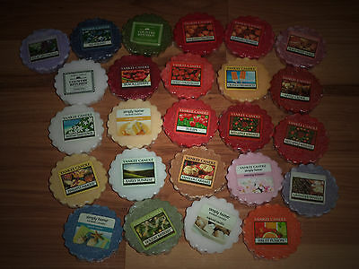 HUGE LOT OF 30 ASSORTED YANKEE CANDLE TART MELTS