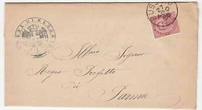 Italy 1885 Commercial Cover to Parma