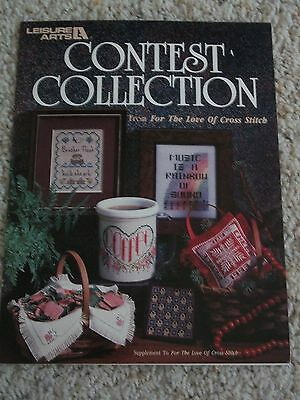Leisure Arts Craft Leaflet Contest Collection From For the Love of Cross Stitch