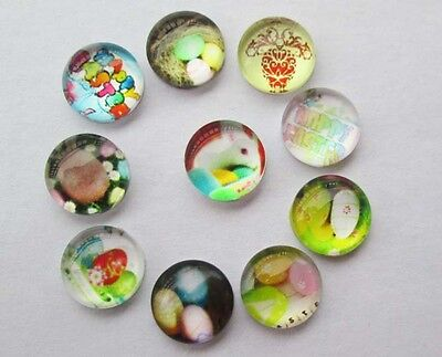 Mix! Happy Easter 10PCS floating charm DIY for glass living memory locket #0191
