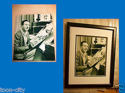 NEW 8x10 photo Walt Disney Drawing Mickey Mouse Classic picture from the 1950s