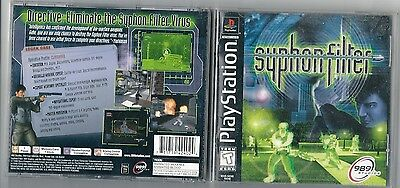 PlayStation Game Syphon Filter  (PlayStation, 1999)