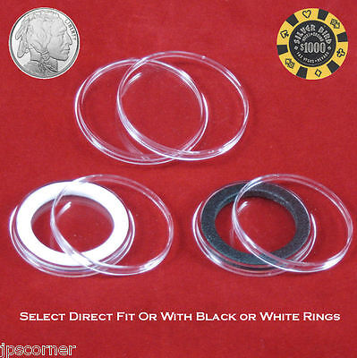 Air-Tite 40.6mm Red Velour Ring Coin Capsule Holders Qty 10